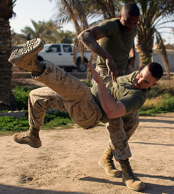UFC Fighters took on Marine Corps Martial Arts Experts - Extreme ...